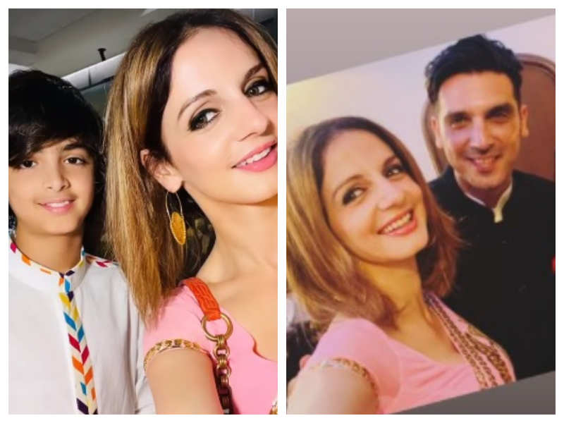 Inside Photos! Hrithik Roshan's ex-wife Sussanne Khan celebrates Eid with brother Zayed Khan and family