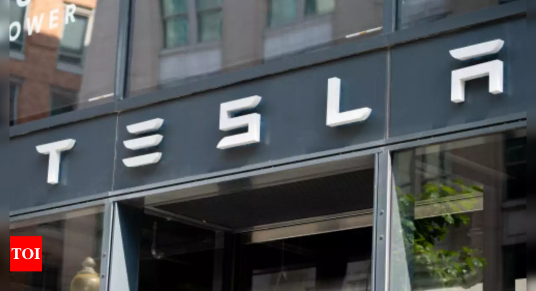 Tesla EV Tax Rebate: Tesla lobbies India for sharply lower import taxes on electric vehicles | – Times of India