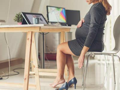 Can pregnant women wear heels?