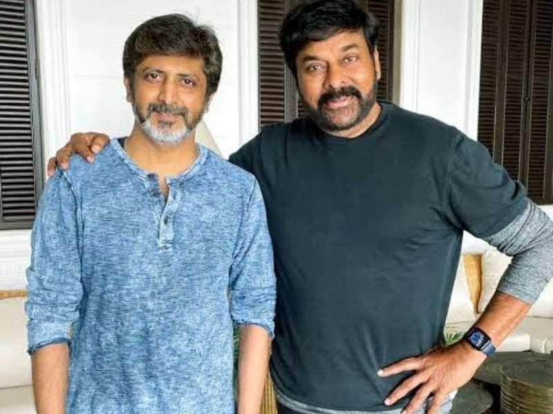 Set work commenced for Chiranjeevi's Telugu remake of Lucifer