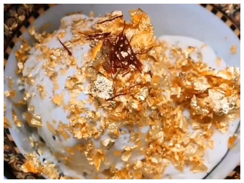 Dubai cafe claims to create world's most expensive ice cream with 23-Carat gold