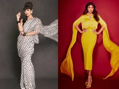 In Pics: Sparkly looks of Shilpa Shetty