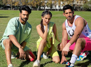 KKK 11's Varun and Anushka bond over soccer