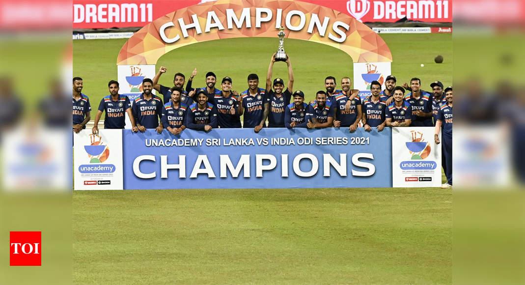 3rd ODI: Sri Lanka bag consolation three-wicket win; India clinch series 2-1 | Cricket News – Times of India
