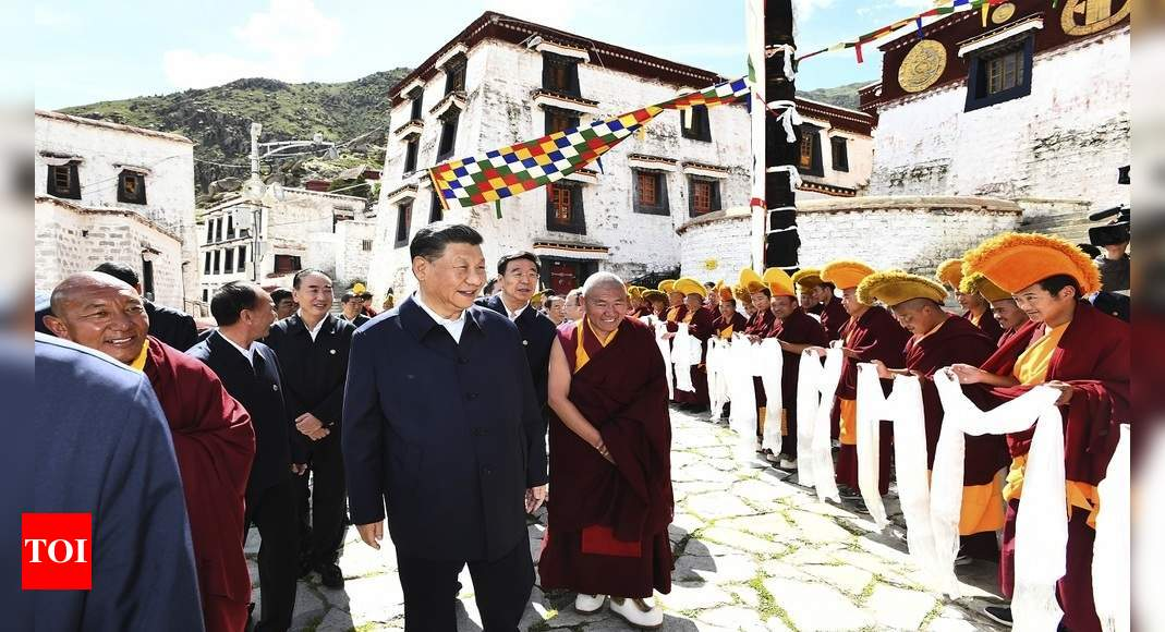Xi Jinping Visit to Tibet: Xi 'secretly' visits Tibet, first trip by a China president in 3 decades | World News – Times of India