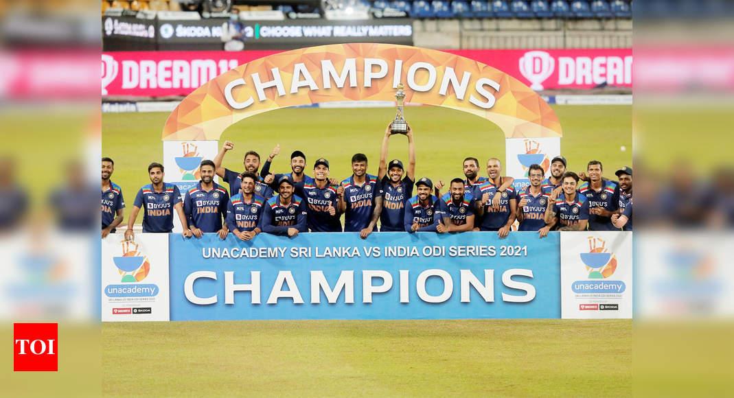 India vs Sri Lanka: Sri Lanka win third ODI; India clinch series 2-1 | Cricket News – Times of India