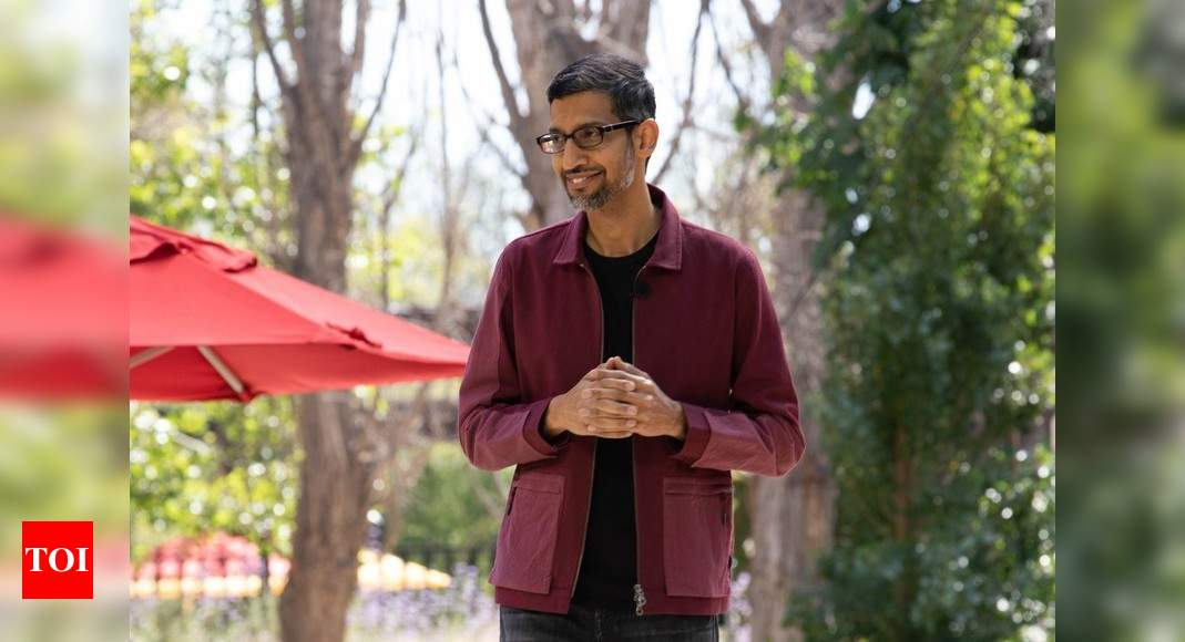 Why Google CEO Sundar Pichai thinks he needs to improve his surfing skills – Times of India