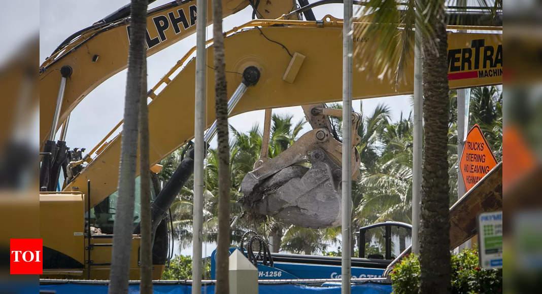 Body search concludes at Florida condo collapse site