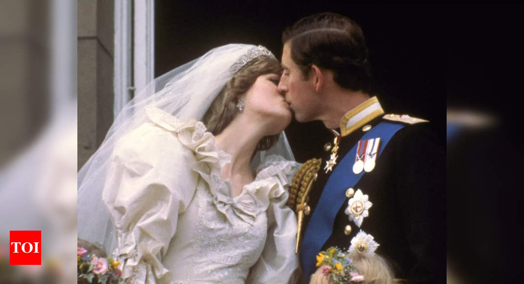 Charles and Diana's 'wedding of the century' – Times of India