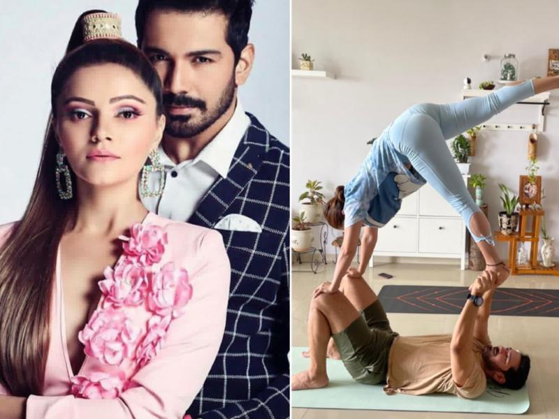 Abhinav Shukla: Rubina and I are doing yoga together; I've just got into yoga and I'm liking it