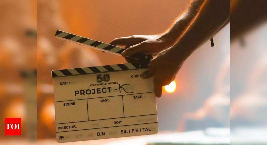 Prabhas is honoured to clap for Amitabh Bachchan's first shot as he starts shooting for Nag Ashwin's film on Guru Purnima – Times of India
