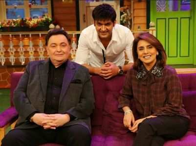 Kapil's throwback pic with his favourites