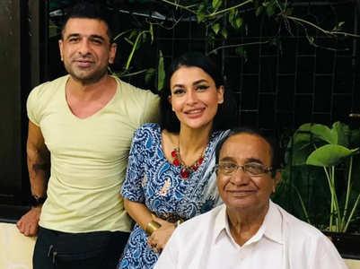 Pavitra Punia meets bf Eijaz Khan's father