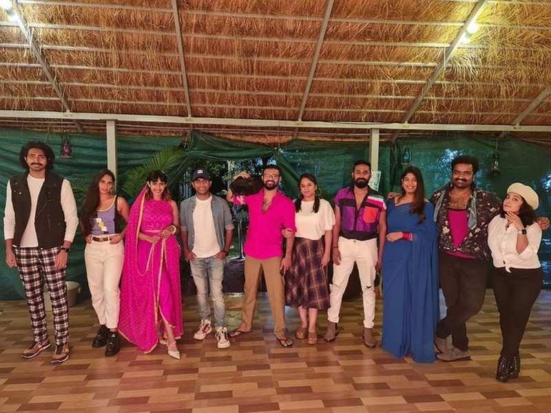 Niharika Konidela throws Tollywood retro-themed birthday bash for bff Pranith Bramandapally