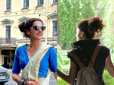 Stylish vacation looks of Taapsee