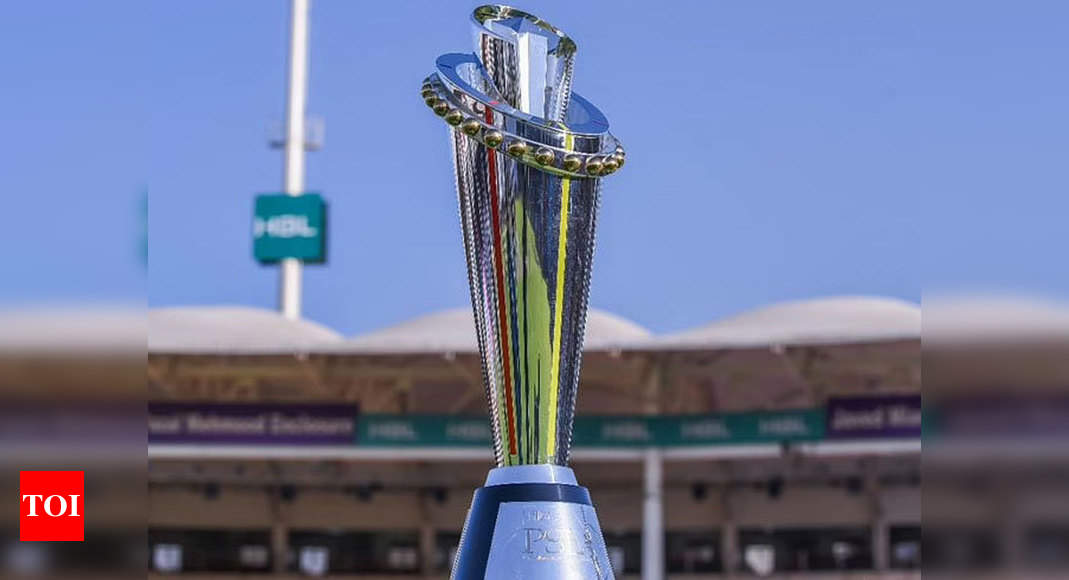 Pakistan Super League to be held in January-February window next year | Cricket News – Times of India