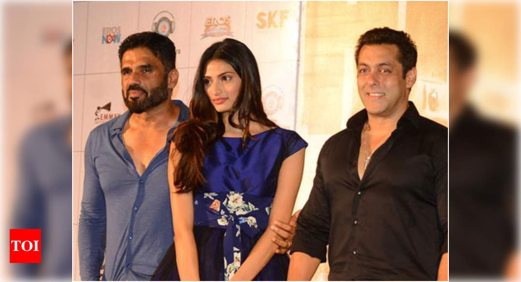 """Suniel Shetty's audio on Salman Khan's apology to Athiya: """"It takes a man to say sorry. Fantastic!""""- Exclusive! – Times of India"""