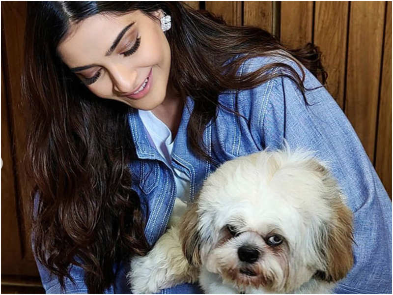 Sonam Kapoor's happy moments with her newest family member spells paww-fect in every way