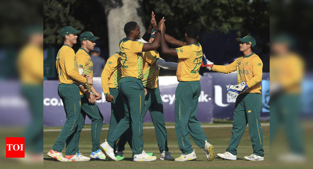 South Africa complete T20 series sweep against Ireland | Cricket News – Times of India