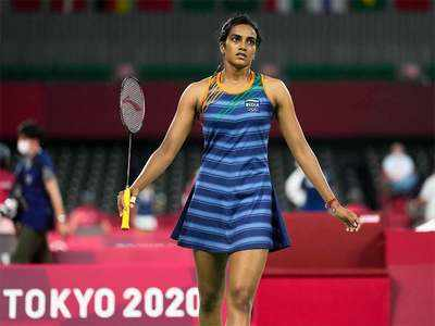 PV Sindhu Olympics: PV Sindhu makes a winning start   Tokyo Olympics News -  Times of India
