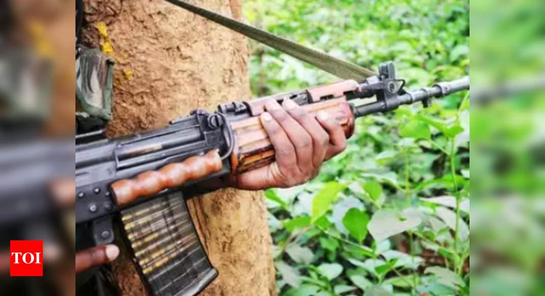Chhattisgarh: Naxal killed in encounter in Sukma | India News – Times of India