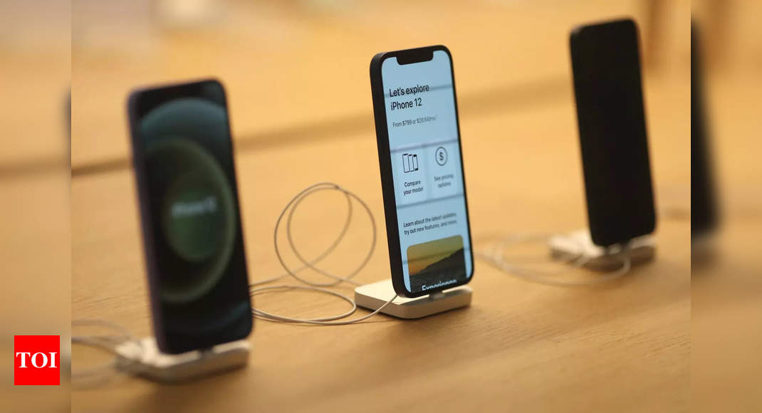 This may be one of the upgrades in Apple iPhone 13 over iPhone 12 – Times of India