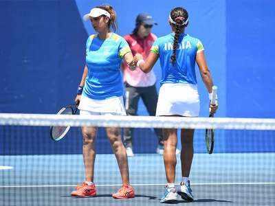 Sania Mirza Olympics: Sania Mirza-Ankita Raina pair knocked out | Tokyo Olympics News - Times of India