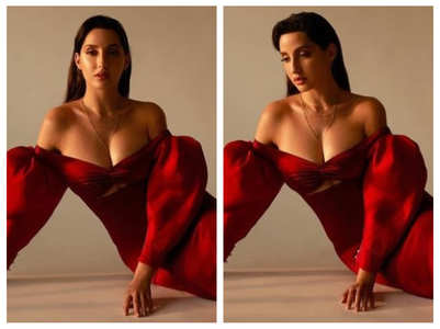 Nora Fatehi amps up the heat on Instagram