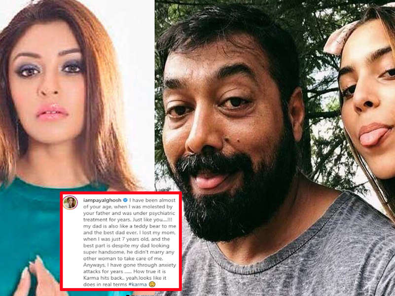 Payal Ghosh writes, 'I was under psychiatric treatment for years just like you' after Anurag Kashyap's daughter spoke on #MeToo allegations against her father
