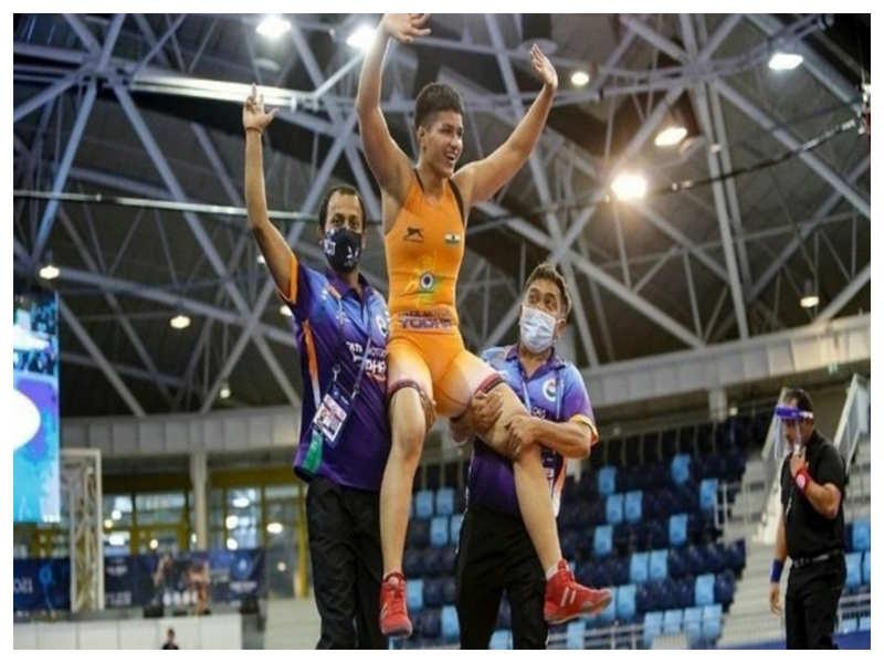 Film industry congratulates Priya Malik on winning gold at World Cadet Championship