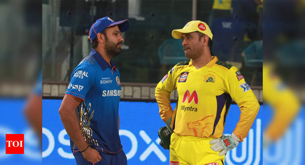 IPL 2021: Mumbai Indians to face off against Chennai Super Kings on September 19 | Cricket News – Times of India