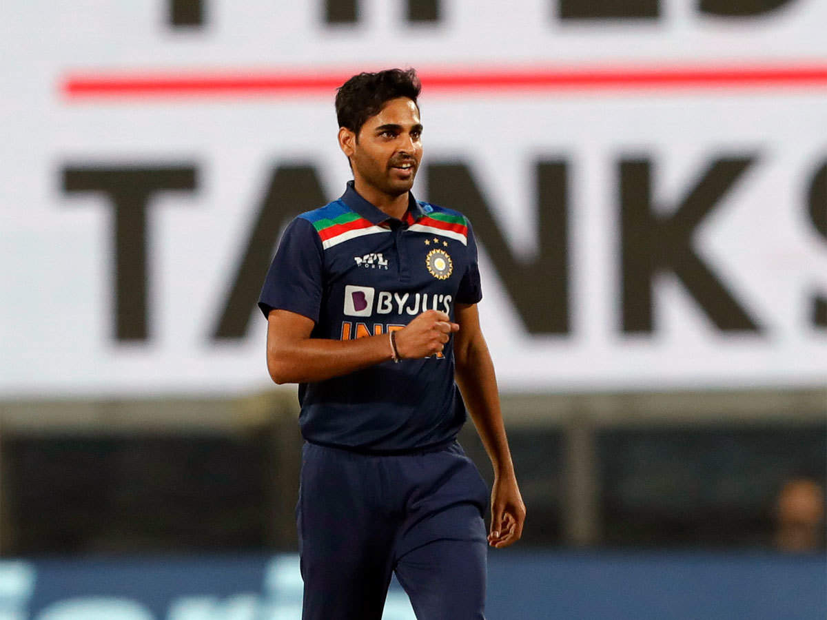 India vs Sri Lanka 1st T20I Highlights: Bhuvneshwar Kumar four-for secures India's  38-run win over Sri Lanka - The Times of India