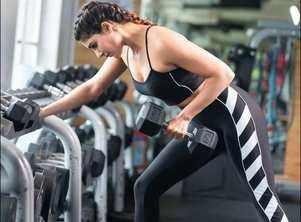 Samantha Akkineni takes inspiration from Olympic medallist Mirabai Chanu, hits the gym on Sunday