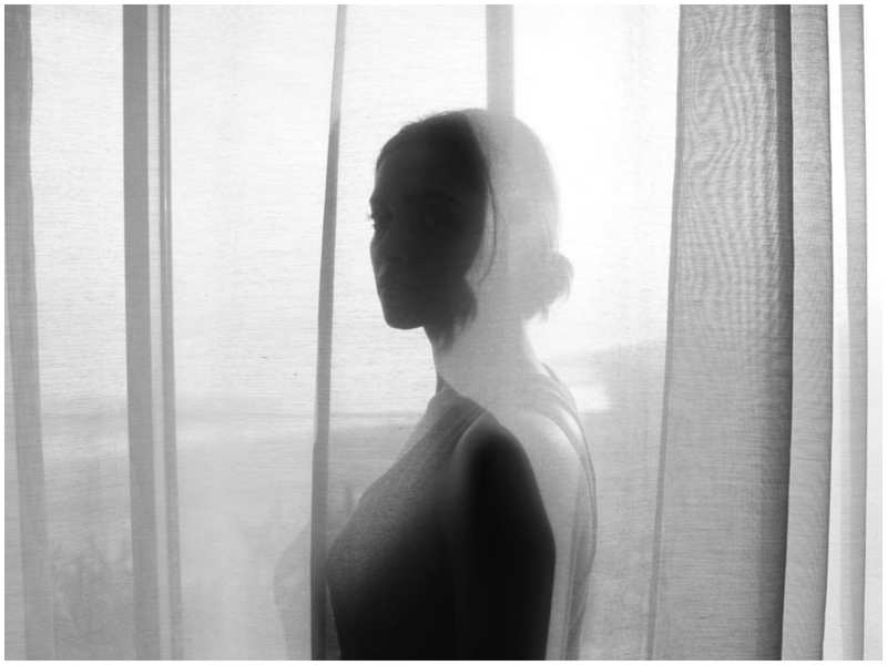 Deepika Padukone's silhouette looks breathtaking beneath the curtains
