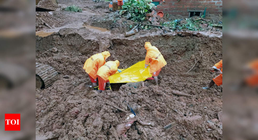 Death toll in landslides and floods rises to 149 in Maharashtra; more bodies recovered, 64 missing | Mumbai News – Times of India