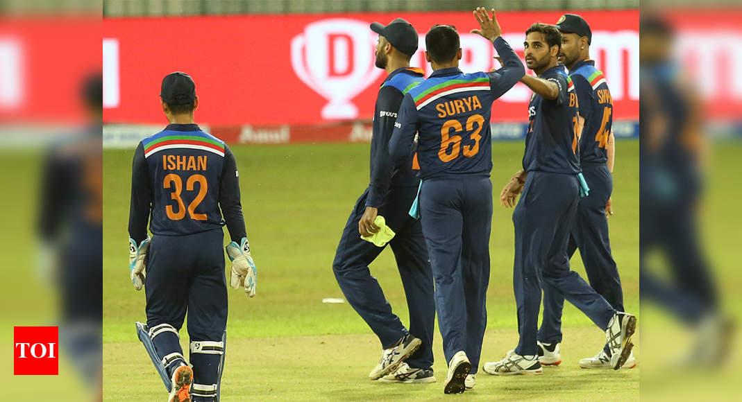 1st T20I: Suryakumar, Bhuvneshwar star in easy India victory over Sri Lanka   Cricket News – Times of India