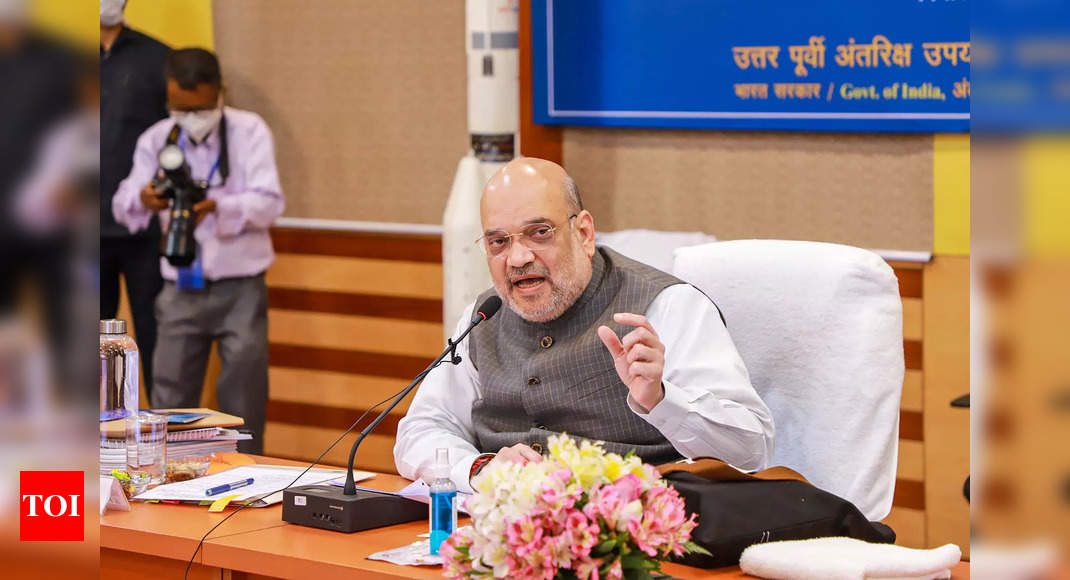 End of militancy, northeast unrest by 2024: Amit Shah | India News – Times of India