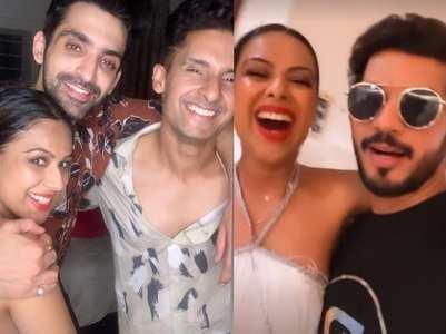 Nia-Arjun groove to 'Baspan Ka Pyar'; watch