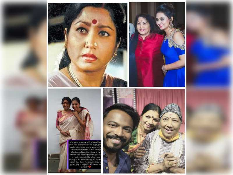 Tributes pour in from Sandalwood for veteran actress Jayanthi