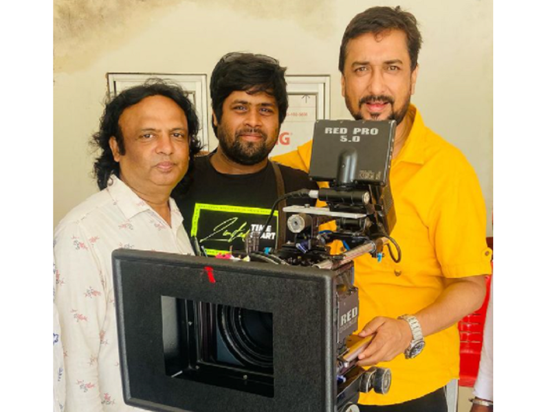 Sanjay Pandey starts shooting for his next 'Aagaur Auhaag'