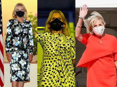Jill Biden looks elegantly chic at the Tokyo Olympics
