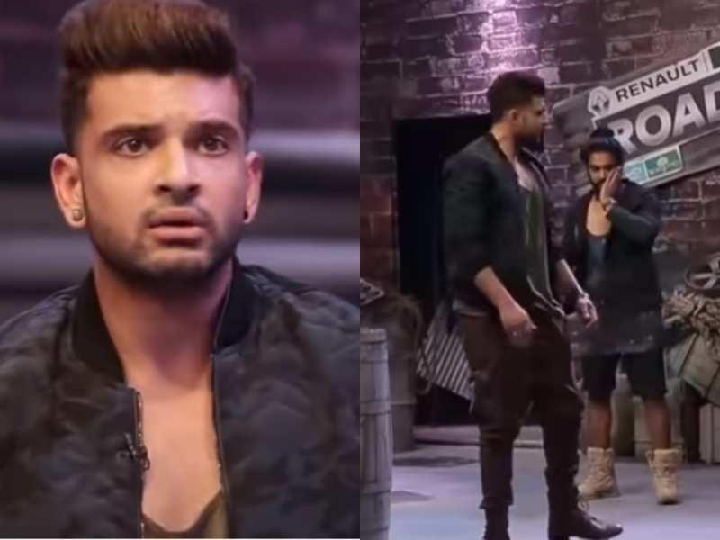 When Karan Kundrra hit a Roadies contestant for slapping his sister; accused him of double standards