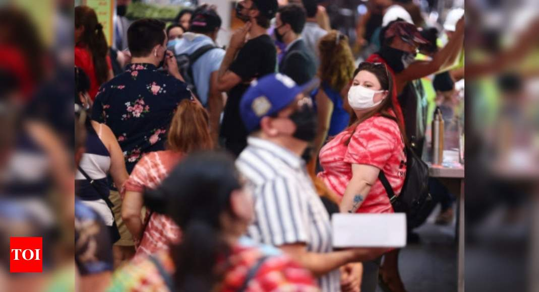 US Covid Cases: US overtakes India in Covid-19 cases amid pandemic of the unvaccinated | World News – Times of India