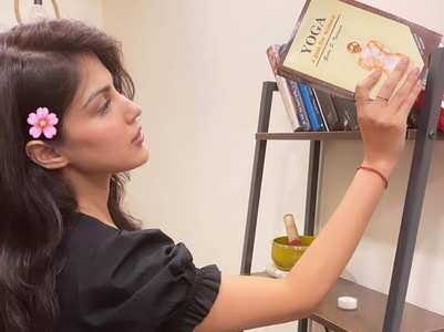 Rhea combines love for yoga and books
