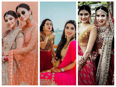 When actresses turned bridesmaids for BFFs