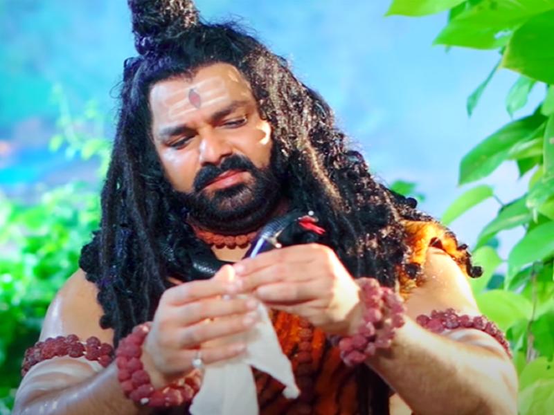 Pawan Singh portrays lord Shankara in his latest song 'Gaura Rus Jani'