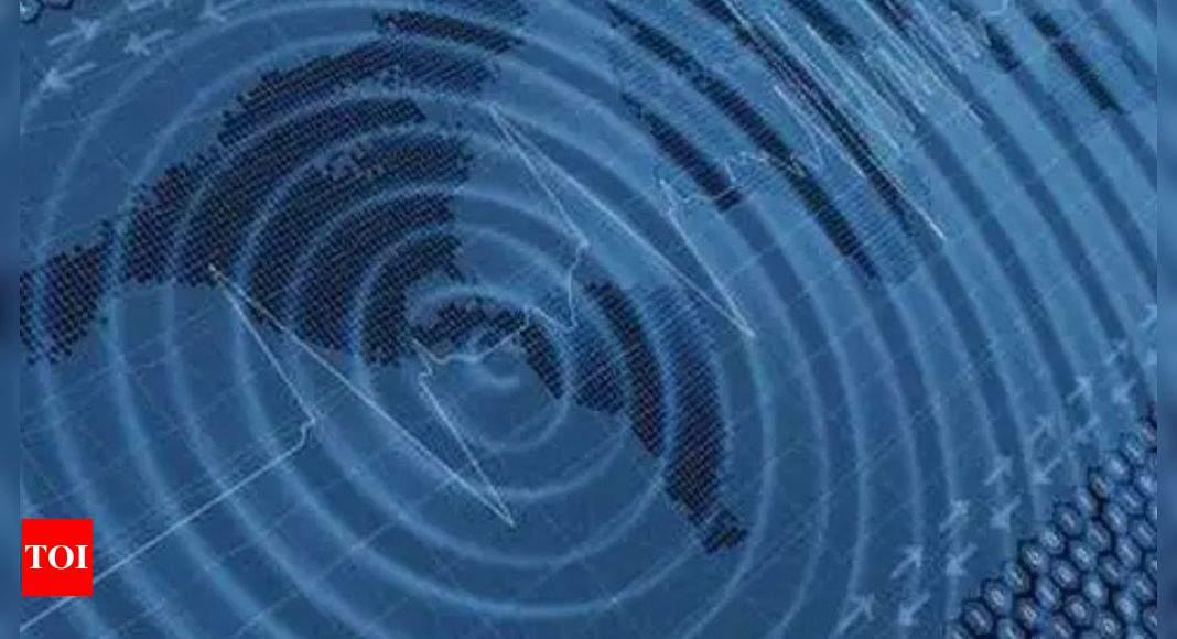 Strong undersea quake shakes Indonesia; no tsunami warning – Times of India