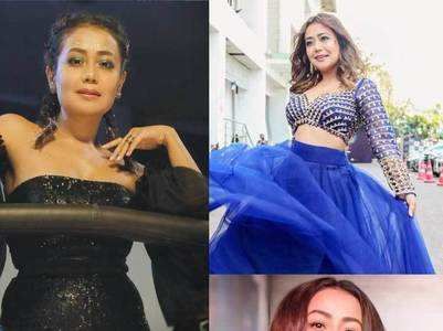 Most stylish pics of Neha Kakkar