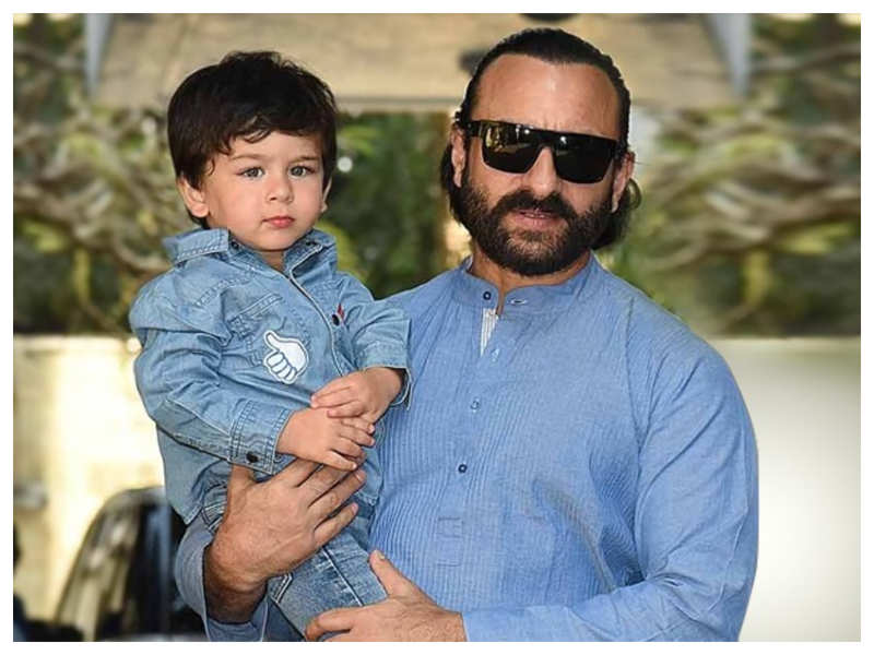 Fan want Saif Ali Khan to star in 'Baby's Day Out' remake with son Taimur, the actor has an EPIC reply