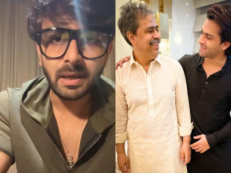 Shoaib Ibrahim gives worried fans his father's health update after the brain stroke; informs his father's 'left side is slightly paralysed'